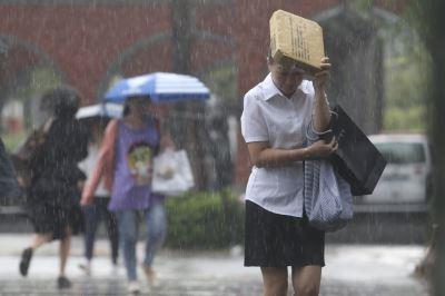 低壓帶北移天氣不穩 午後防強降雨