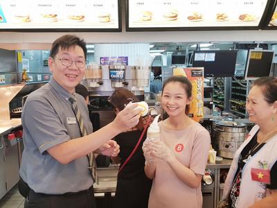 移民署攜麥當勞推職場體驗 促新住民就業
