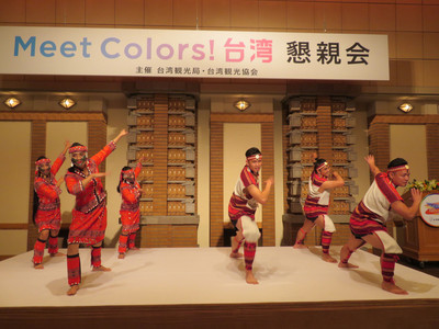 葉菊蘭周永暉率團抵日 推廣台灣觀光魅力