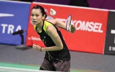 中國羽球公開賽  戴資穎爆冷出局