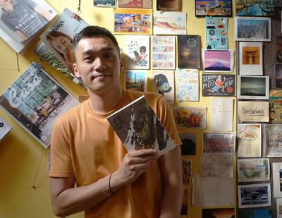 受邀駐市為台北寫詩 黃裕邦如熟悉的陌生人