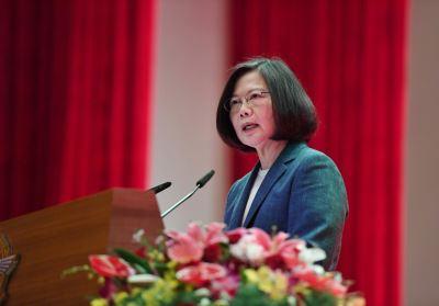 總統:中國惡意散播虛假訊息 企圖影響國際輿論