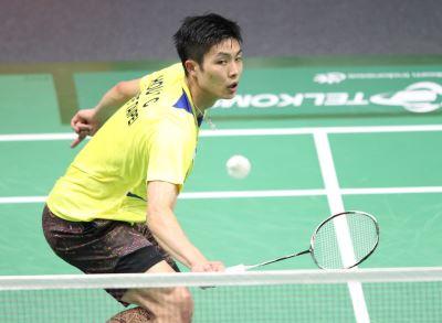 中國羽球公開賽 周天成直落二晉級4強
