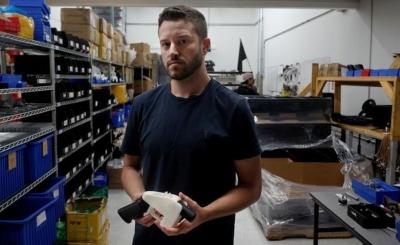 美國3D列印手槍發明人涉性侵  刑事局緝獲