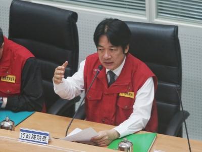 賴清德治水報告出爐  歸納台灣水患5大肇因