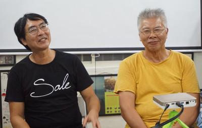 紀錄片導演拍漂流木畫家 映出各自漂流人生
