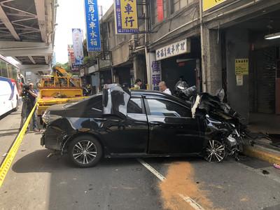 男子酒後駕車  北市撞3女騎士1重傷