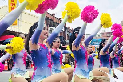 桃園地景藝術節國際踩街 為老城注入青春氣息