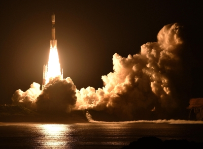 日無人補給太空船白鸛7號 成功發射升空
