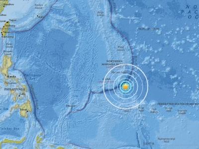 關島發生規模6.4淺層地震 未傳災損