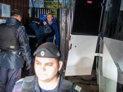 甫出獄旋遭拘押 俄反對派領袖恐再度被判刑