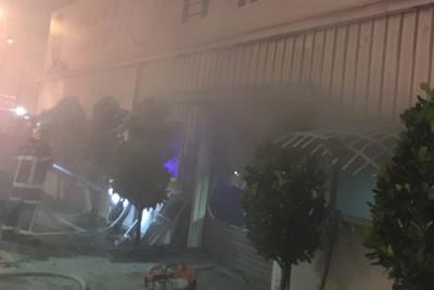 台南市議員曾姓參選人總部失火 初判無關選舉