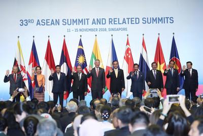 東協峰會 亞洲領袖警告保護主義恐引發骨牌效應