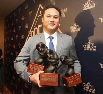 奪中職年度MVP 陳俊秀:屬於桃猿每個人
