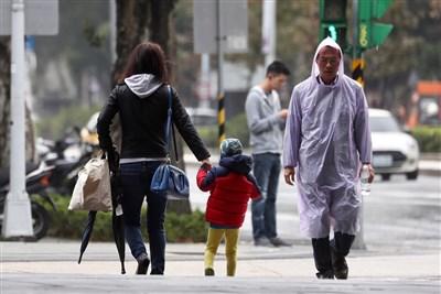 冷氣團到鋒面過 北台灣轉冷有雨