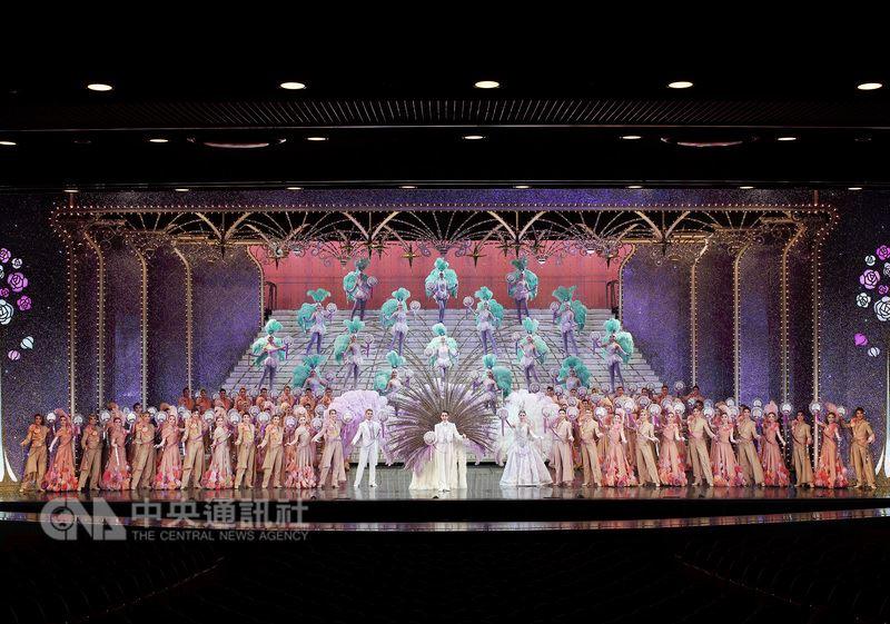 寶塚歌劇團10月將第3度來台公演,將演出改編台灣霹靂布袋戲與日本編劇虛淵玄打造的奇幻布袋戲電視劇「東離劍遊紀」。(寬宏藝術提供)中央社記者鄭景雯傳真 107年3月2日
