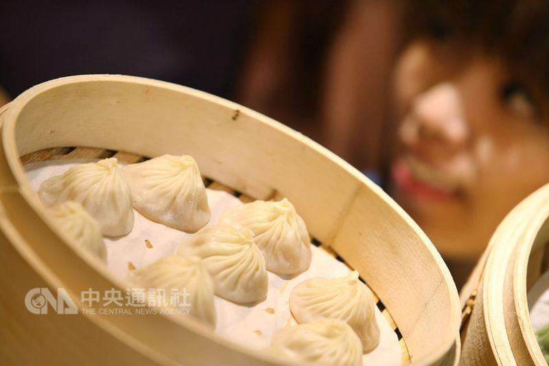 米其林6日公布榮獲「必比登推介」的美食餐廳,有36家店家及餐廳入選。圖為點水樓的小籠湯包。(中央社檔案照片)