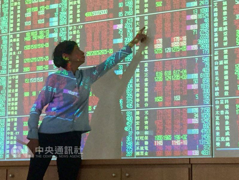 台北股市12日上漲137.28點,收盤為11002.1點。(中央社檔案照片)