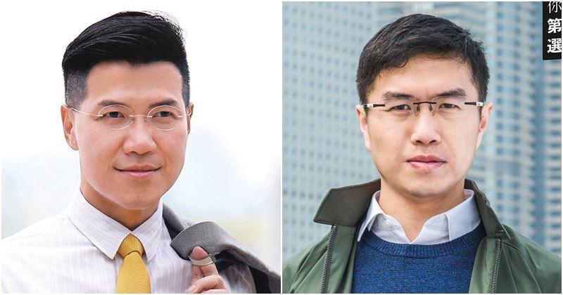 香港立法會補選11日舉行,泛民候選人區諾軒(右)和范國威(左)奪得香港島、新界東議席。(圖取自區諾軒、范國威臉書www.facebook.com)