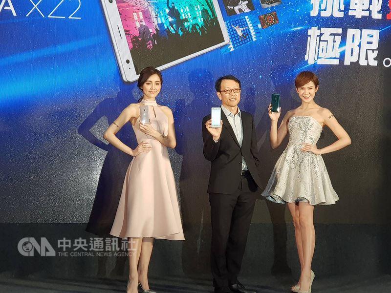 Sony Mobile旗艦機Xperia XZ2將在台灣開賣,是全台首款採用高通 Snapdragon 845 的智慧機, Sony Mobile台灣總經理林志遠表示,目標將成為Android高階銷售機王。中央社記者江明晏攝 107年3月13日