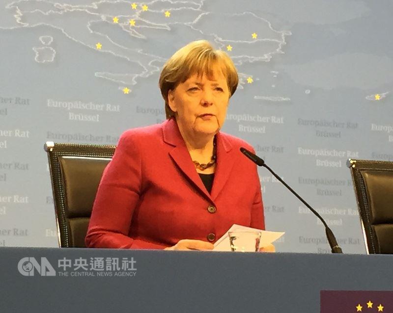 德國國會議員將於台北時間14日下午4時選出梅克爾擔任總理。(中央社檔案照片)