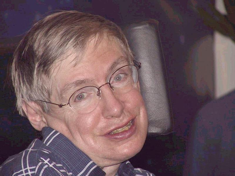 英國物理學家霍金14日逝世,享壽76歲。(檔案照片/中新社提供)