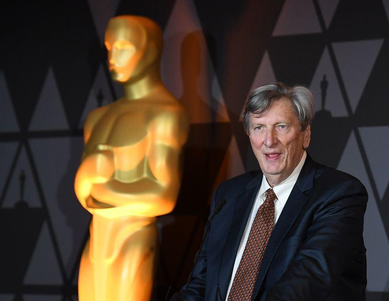 外媒報導,奧斯卡金像獎主辦單位美國影藝學院主席貝里因涉嫌性騷擾,正接受調查。(法新社提供)