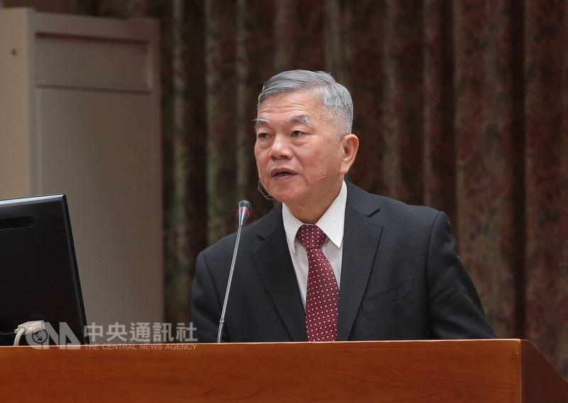 經濟部長沈榮津表示,工業等用電大戶電價調整不大,約在3.5%左右,「應該是合理」。(中央社檔案照片)