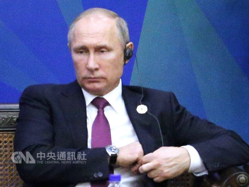 俄羅斯總統大選18日投票,現任總統蒲亭可望贏得歷史性第4個總統任期。(中央社檔案照片)
