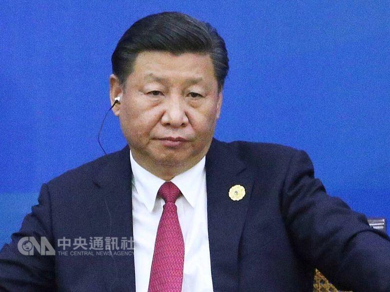 中國外交部公布,中國國家主席習近平(圖)17日應約與德國總理梅克爾通電話。(中央社檔案照片)