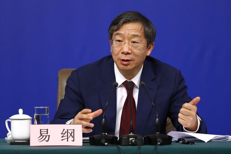 中國人民銀行副行長易綱(圖)19日接下中國人民銀行行長的棒子。(檔案照片/中新社提供)