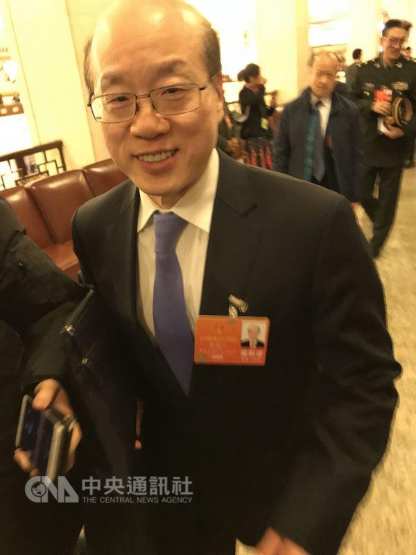 中國國台辦主任張志軍19日上午當選全國人大外事委員會副主任委員後,劉結一(圖)將正式接掌國台辦主任。(中央社檔案照片)