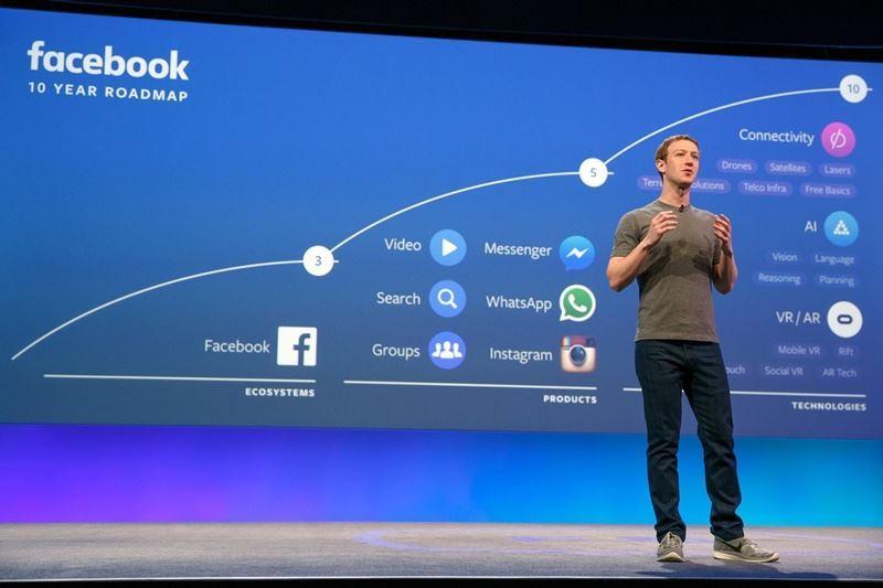 臉書公司爆發數百萬用戶個資被政治競選活動利用,英國國會下議院一個委員會要求臉書執行長祖克柏親自前來提出說明。(圖取自祖克柏臉書www.facebook.com)