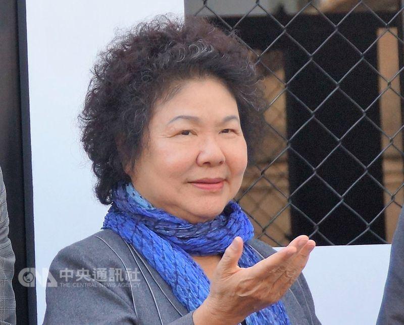對於是否接總統府秘書長,陳菊日前曾表示不排除討論,但至今未鬆口。(中央社檔案照片)