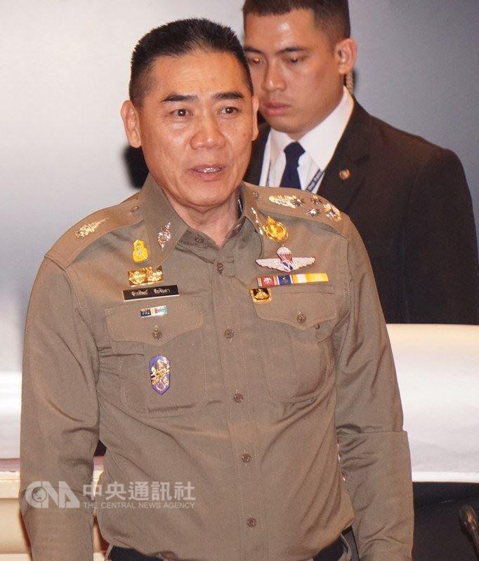台灣女遊客遭到按摩師性侵害案,引起各界關注,泰國皇家警察總長賈迪布已經下令徹查。 中央社記者劉得倉曼谷攝 107年4月15日