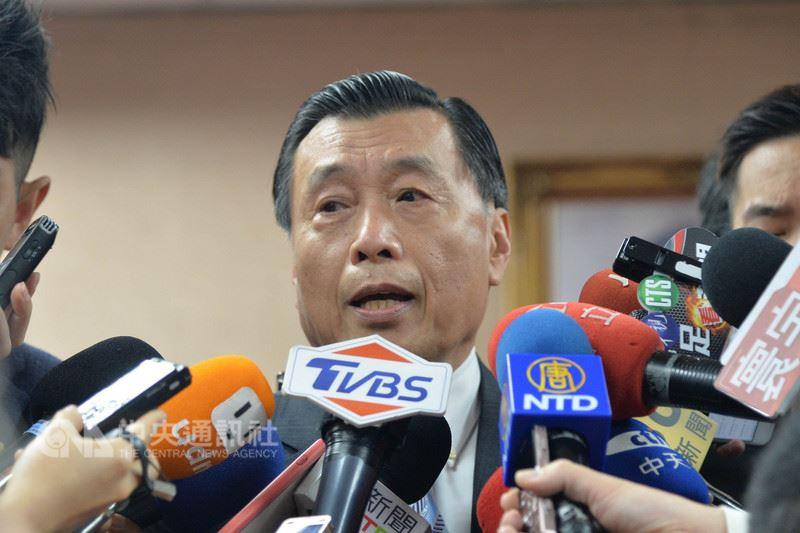 中國大陸將在台灣海峽進行火砲射擊訓練,國安局長彭勝竹(圖)16日在立法院表示,這次中共演練區域不大、時間不長,比對往年狀況,為例行性訓練。中央社記者孫仲達攝  107年4月16日