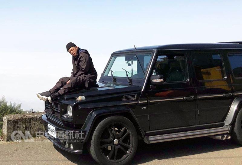 樂團玖壹壹成員健志以愛車為創作靈感,宣布推出新單曲「G CAR」,從詞曲、製作、歌詞版MV概念想法,都由他個人操刀。(混血兒娛樂提供)中央社記者江佩凌傳真  107年4月17日