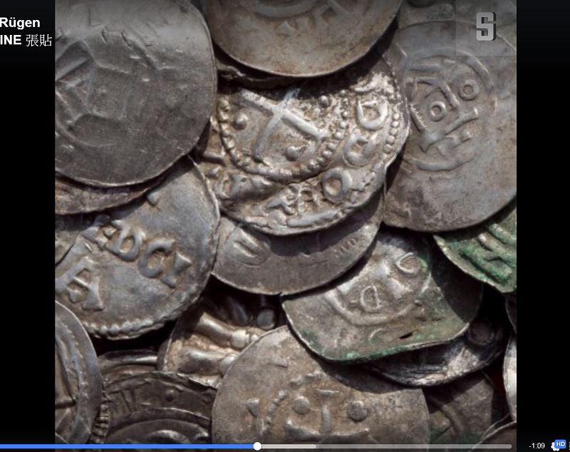 13歲男孩和業餘考古學家在德國挖到重要寶藏,可能是傳奇丹麥國王藍牙哈拉德所有。(圖取自德國明鏡週刊臉書網頁facebook.com/spiegelonline)