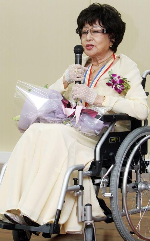 南韓電影演員崔銀姬16日因病在首爾去世,享壽92歲。(韓聯社提供)