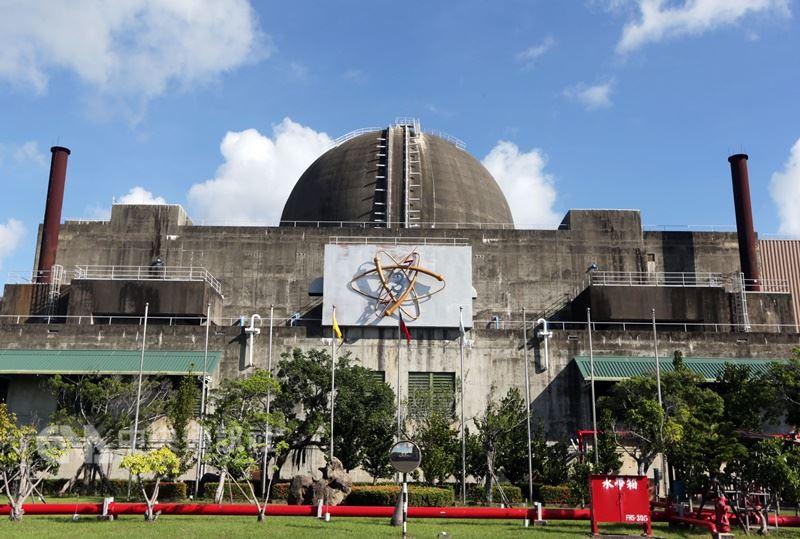 圖為核三廠1號機。(中央社檔案照片)