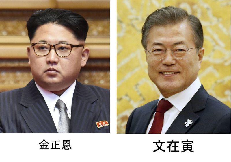 北韓領導人金正恩將與南韓總統文在寅會談,金正恩21日宣布將停止核子和飛彈測試,並關閉核子試驗場。(檔案照片/共同社提供)