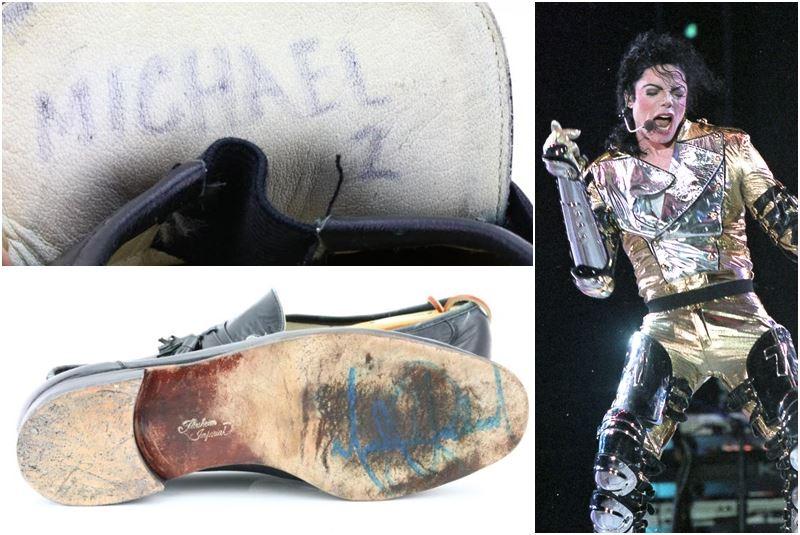 麥可傑克森月球漫步鞋網拍 有出價5萬美元