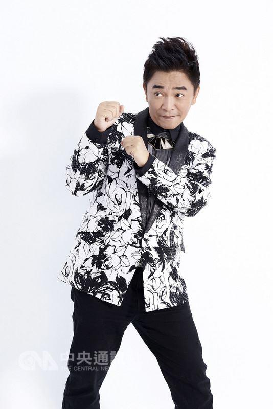 資深藝人吳宗憲7月首攻台北小巨蛋開唱,26日宣布將於7月29日再加開一場,回饋熱情歌迷支持。(華貴娛樂提供)中央社記者汪宜儒傳真 107年4月26日