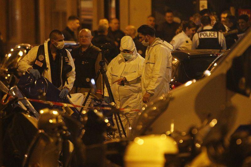 巴黎市中心12日出現一名持刀男子發動攻擊,導致一人死亡4人受傷,攻擊者已遭警方擊斃。(法新社提供)