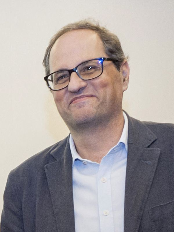 加泰隆尼亞自治區議會14日選出強硬獨派托拉為新主席。(圖取自維基共享資源,作者Òmnium Cultural,CC BY-SA 2.0)
