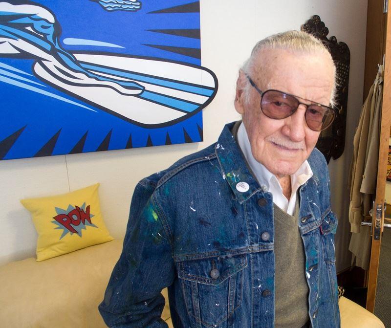 美國傳奇漫畫家史丹李控告他共同創立的Pow!娛樂公司,指控公司老闆試圖侵害他的肖像權,要求10億美元(約新台幣300億元)損害賠償。(圖取自Stan Lee臉書www.facebook.com)