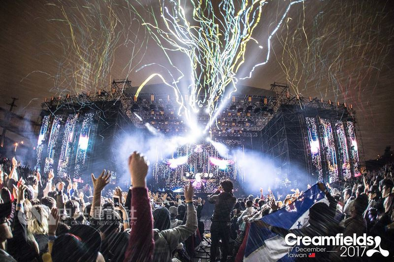 英國歷史悠久的經典派對品牌「Creamfields(奶油田)」今年來台升級為2日活動,並邀來5組重量級超人氣DJ,演出風格類型也更加全面及多元化。(Super Chill Events/Live Nation Taiwan提供)中央社記者江佩凌傳真 107年5月17日