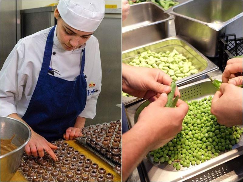 溫莎城堡廚房利用英國當地食材,做為英國哈利王子與美國女星梅根馬克爾的婚宴菜色。(圖取自肯辛頓宮Instagram網頁www.instagram.com/kensingtonroyal)