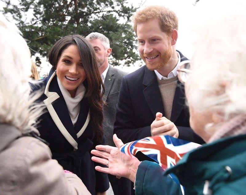 英國哈利王子與未婚妻梅根馬克爾的婚禮進入倒數計時。(圖取自The Royal Family臉書www.facebook.com)