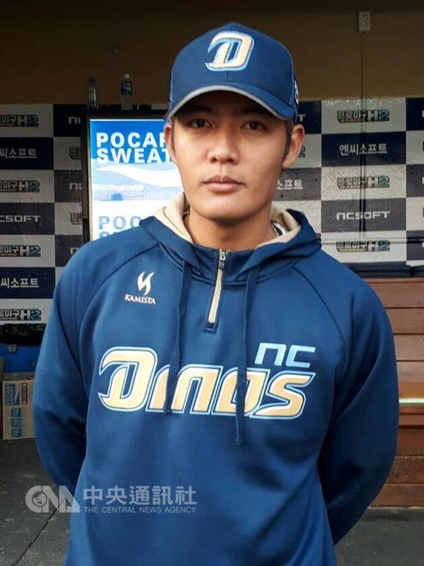 韓國職棒NC恐龍隊台灣投手王維中本季已先發出賽7場,投出6場優質先發,戰績3勝1敗,防禦率2.40。(中央社檔案照片)